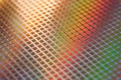Disque du silicium IC Image libre de droits