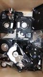 Disque dur cassé photographie stock libre de droits