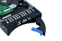 Disque dur de serveur, HDD Images stock