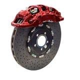 Disque en acier de frein complet avec des protections de frein photos libres de droits