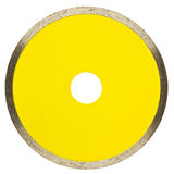 Disque en pierre de coupe Image stock