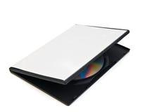 Disque et un cadre blanc pour le disque images libres de droits
