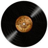 Disque longplay d'Argentino de tango de vinyle de vintage Photo libre de droits