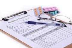 Disque médical Image stock