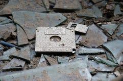 Disque souple abandonné Photo stock