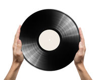 Disque vinyle photographie stock libre de droits