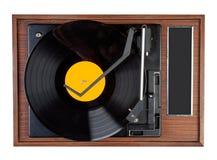 Disque vinyle de vintage Photographie stock libre de droits