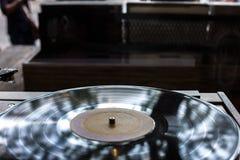 Disque vinyle discret Images libres de droits