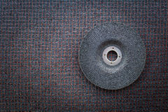 Disques abrasifs pour le meulage en métal Photographie stock libre de droits