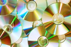 disques cd Images stock