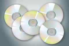 Disques compacts-ROM Photo stock