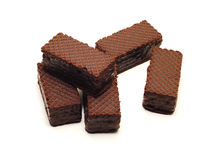 Disques de chocolat Images libres de droits