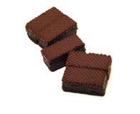 Disques de chocolat Image libre de droits