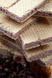 Disques de chocolat Photographie stock libre de droits