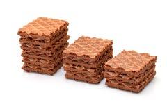 Disques de chocolat de segment de mémoire Image libre de droits