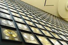 Disques de musique country Photographie stock