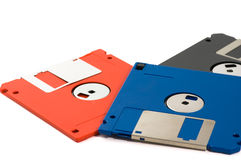 Disques souples Photo stock