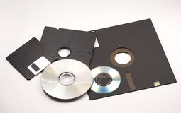 Disques souples Images stock
