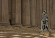 Disraeli, St George's Hall, Liverpool Stock Images