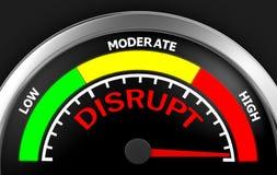 disrupt Stockbilder