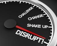 disrupt Stockbild