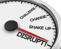 disrupt Stockfotos