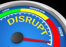 Disrupt Stock Image