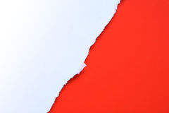 Disrupt Paper Background. Nice impressive background made from disrupt white and red paper Royalty Free Stock Image