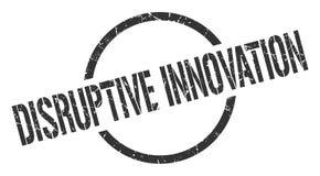 Disruptive innovation stamp. Disruptive innovation round grunge stamp. disruptive innovation sign. disruptive innovation vector illustration