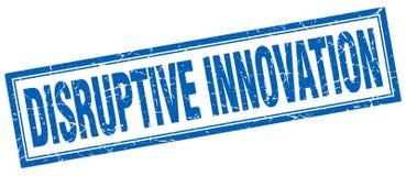 Disruptive innovation stamp. Disruptive innovation square grunge stamp. disruptive innovation sign. disruptive innovation vector illustration