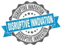 disruptive innovation stamp Royalty Free Stock Photo