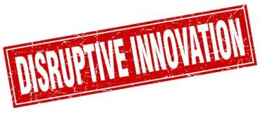 Disruptive innovation  stamp Stock Photography