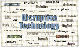 Disruptive Technology Illustration Royalty Free Stock Photo