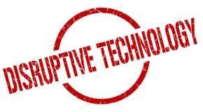 Disruptive technology stamp. Disruptive technology round grunge stamp. disruptive technology sign. disruptive technology royalty free illustration