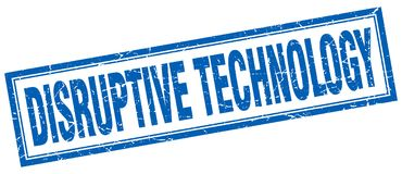 Disruptive technology stamp. Disruptive technology square grunge stamp. disruptive technology sign. disruptive technology vector illustration