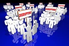 Disruptors Industry Change Agents Innovators People Stock Photo