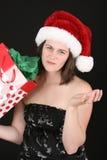Dissapointing圣诞节 库存图片