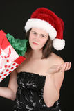 Dissapointing jul Fotografering för Bildbyråer