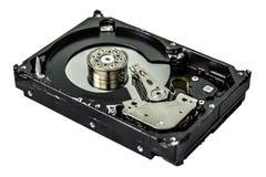 Диск компьютера трудный Dissasembled HDD стоковое изображение rf