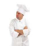 Dissatisfied or angry cook Royalty Free Stock Images
