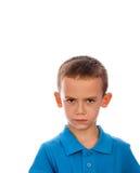 Dissatisfied boy Stock Photo