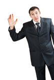 Dissatisfied businessman Stock Photos