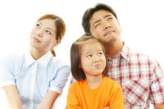 Dissatisfied family Royalty Free Stock Photography