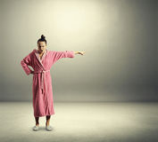 Dissatisfied housewife Royalty Free Stock Images