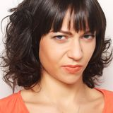 Dissatisfied young woman Royalty Free Stock Photography