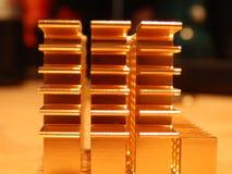 Dissipador de calor de cobre Foto de Stock Royalty Free