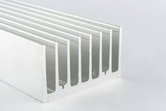 Dissipador de calor de alumínio imagem de stock royalty free