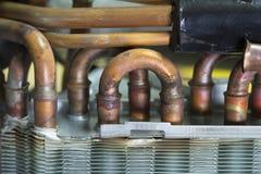 Dissipador de calor do condicionador de ar Fotografia de Stock