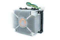 Dissipador de calor do processador central em isométrico Foto de Stock