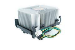 Dissipador de calor do processador central em isométrico Fotografia de Stock Royalty Free
